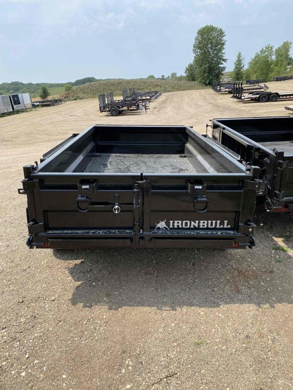 2021 Iron Bull 60X10 TA5.2K Dump Trailer