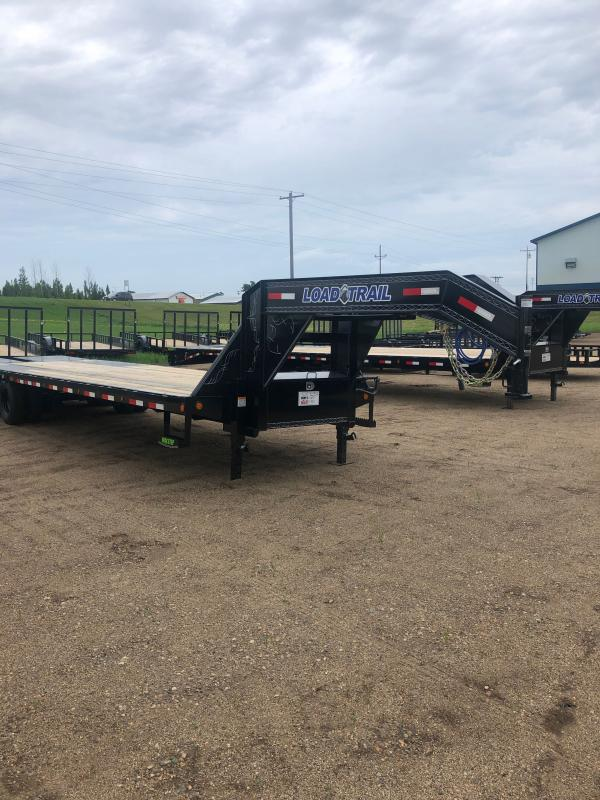 2020 Load Trail LOAD TRAIL Low-Pro 102 x 32 Equipment Trailer