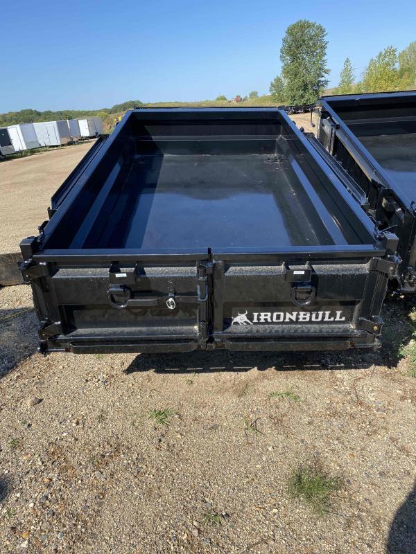 2021 Iron Bull 60X10 TA52 Dump Trailer