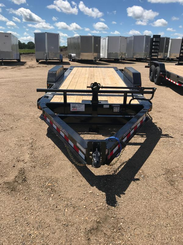2021 Load Trail 83X18 TILT-N-GO TANDEM AXLE TILT DECK I-BEAM FRAM Car / Racing Trailer