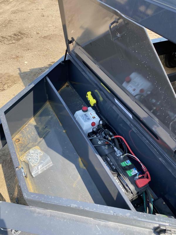 2021 Iron Bull 83X14 TA7K Dump Trailer