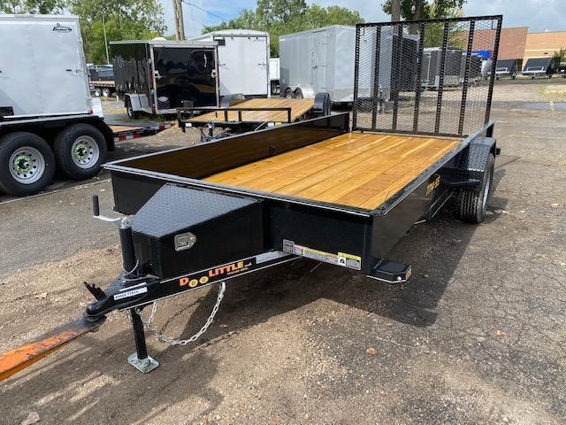 "77"" X 14' Single Axle Open Utility Trailer"