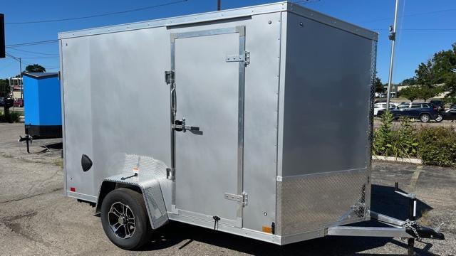 6' X 10' Aluminum Enclosed Cargo Trailer