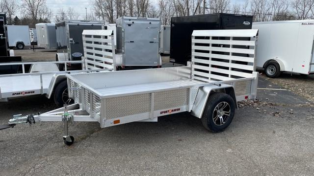 6' X 10' Single Axle Open Utility Trailer