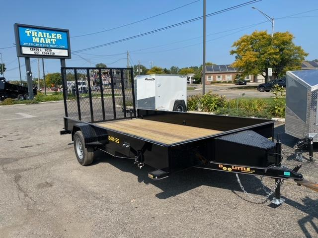 84 X 14  Single Axle Utility Trailer