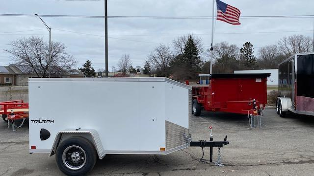 4 X 8 Enclosed Trailer