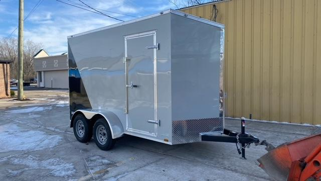 6 X 12 Tandem Axle Enclosed Trailer