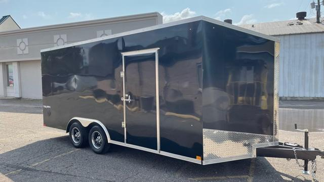 8.5' X 18' Tandem Axle Enclosed Car Hauler Trailer