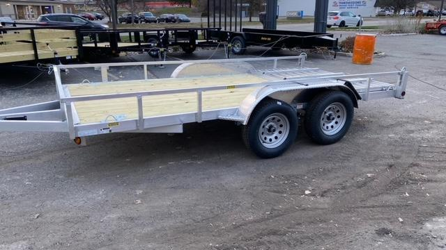 82 X 14 Aluminum Tandem Axle Open Utility Trailer