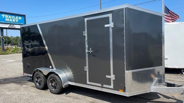 7' X 16'  Aluminum Tandem Axle Enclosed Cargo Trailer