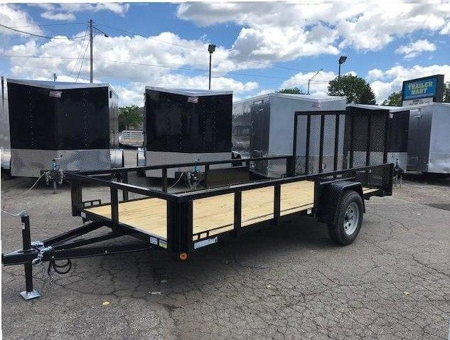 "82"" X 14' Single Axle Open Utility Trailer"