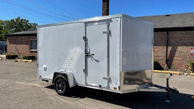 6' X 12' Aluminum Enclosed Cargo Trailer