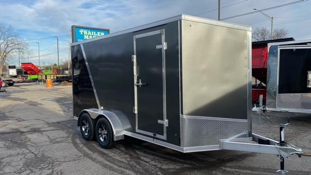 7 X 14 Tandem Axle Enclosed Cargo Trailer
