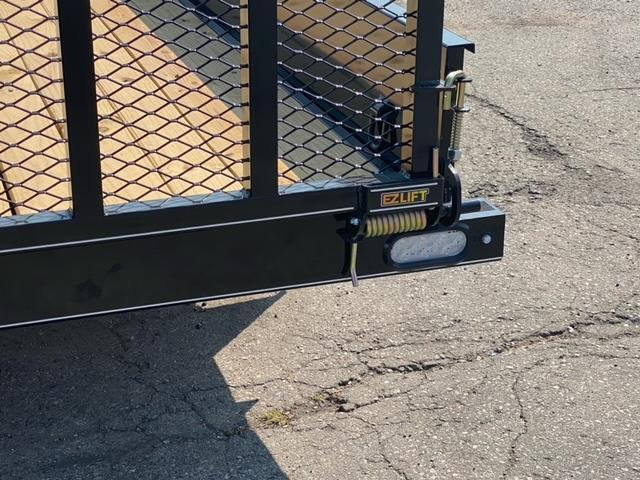 77 X 12  Single Axle Utility Trailer