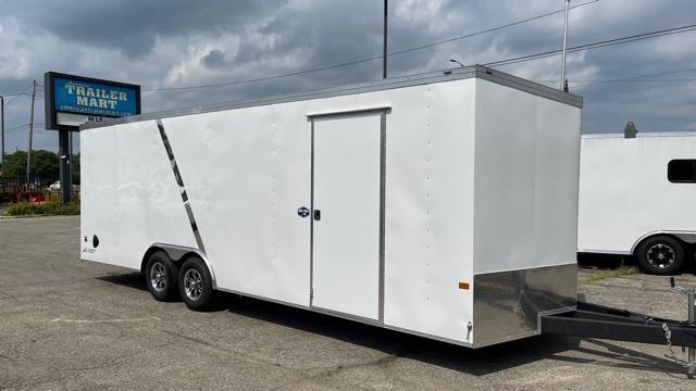 8.5' X 24' Tandem Axle Enclosed Car Hauler Trailer