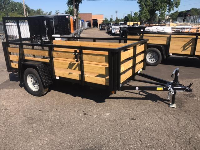 5' X 8' Single Axle Open Utility Trailer