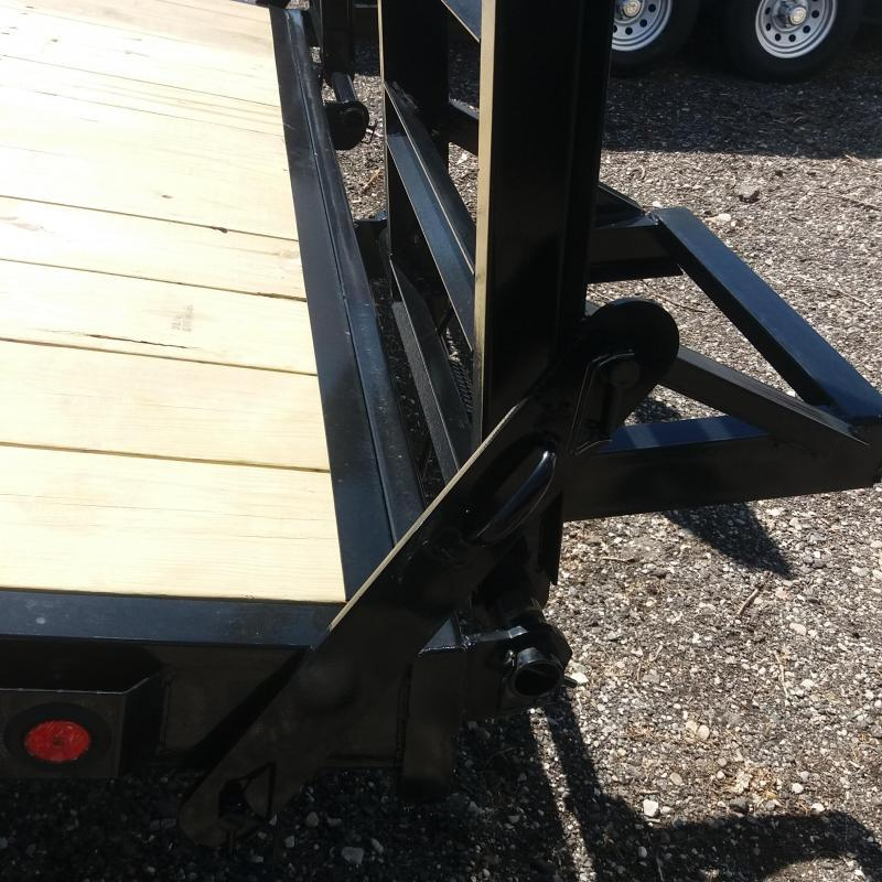 102 X 18+4 Deckover Equipment Hauler Trailer 10K