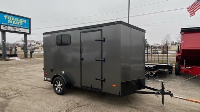 6 X 12 Single Axle Enclosed Motorcycle Trailer