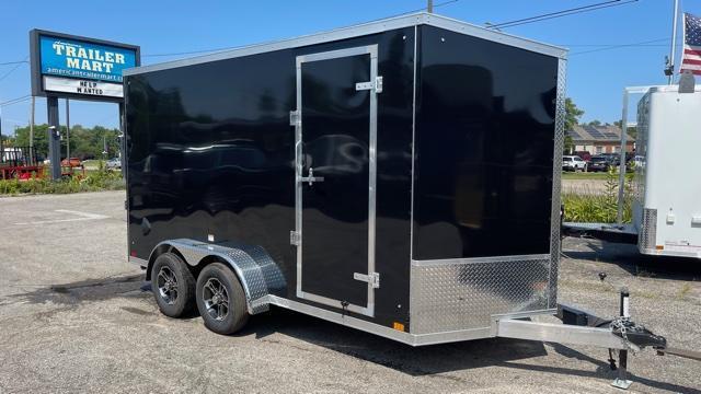 7' X 14'  Aluminum Tandem Axle Enclosed Cargo Trailer