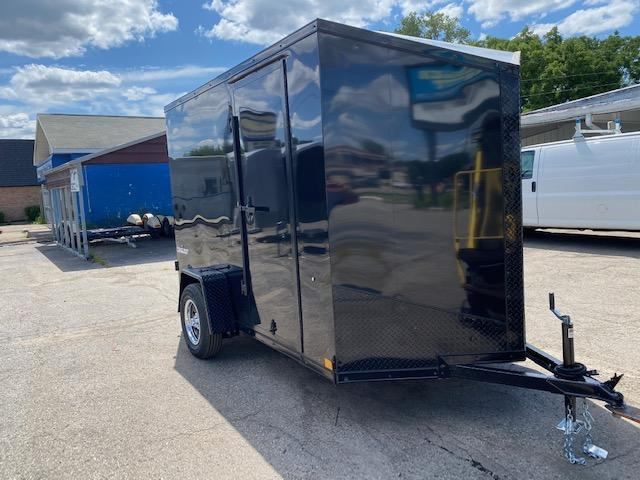 "6 X 10 Single Axle Enclosed Trailer ""Black Out"""