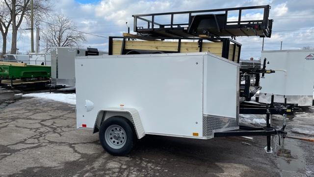 4 X 8 Enclosed Cargo Trailer