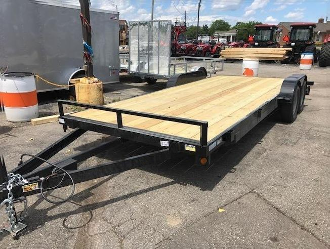 "83"" X 20' Car Hauler/Flatbed Trailer"