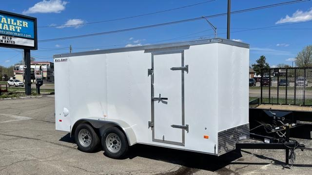 7' X 14' Tandem Axle Enclosed Trailer
