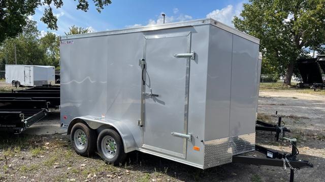 7' X 12' Tandem Axle Enclosed Trailer