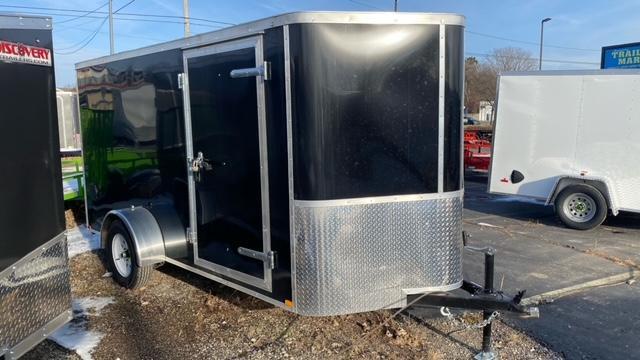 6 X 12 Enclosed Cargo Trailer