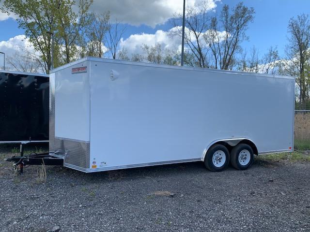 8.5' X 20'  Enclosed Cargo/Car Hauler Trailer