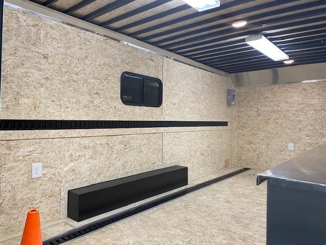 8.5' X 16' Tandem Axle Contractor Enclosed Trailer