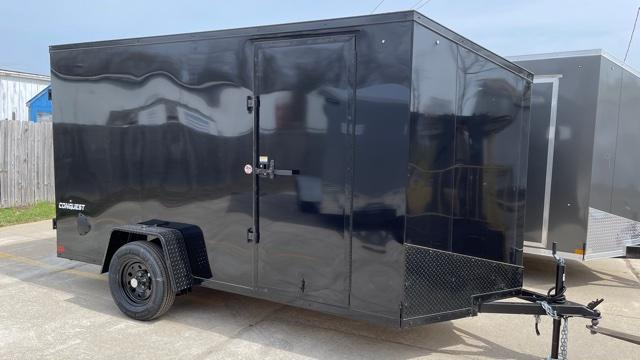 6 X 12 Single Axle Enclosed Trailer Blackout Trailer