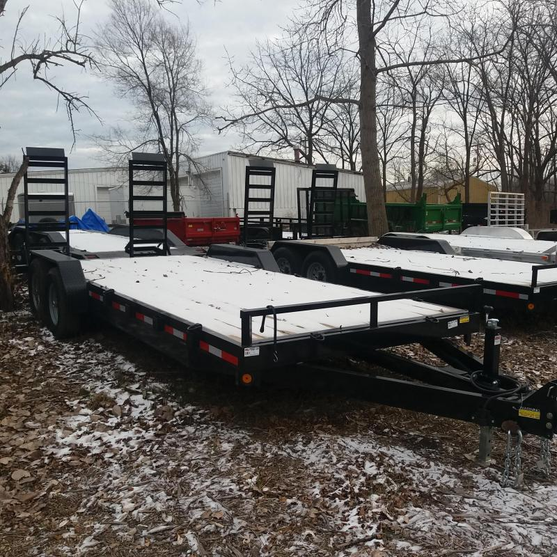 83 X 20 Equipment Hauler Trailer 14K