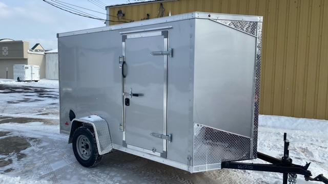5' X 10' Single Axle Enclosed Trailer