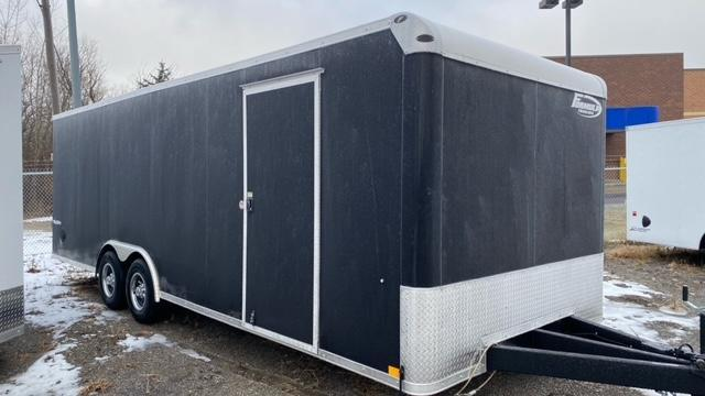 8.5' X 24' Tandem Axle Enclosed Car Hauler Trailer