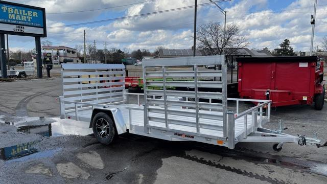 7' X 14' Single Axle Open Utility Trailer