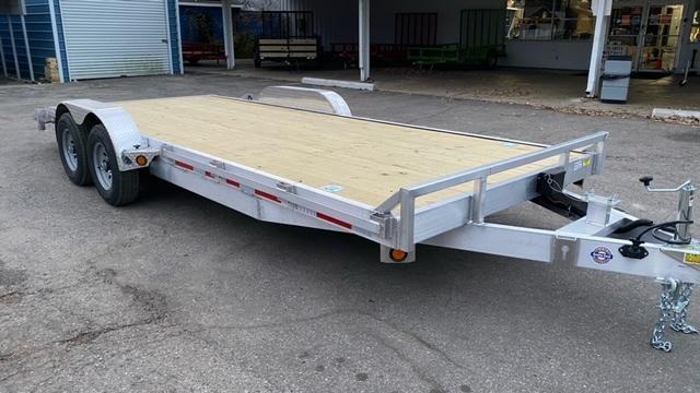 """83"""" X 20' Aluminum Car Hauler/Flatbed Trailer"""