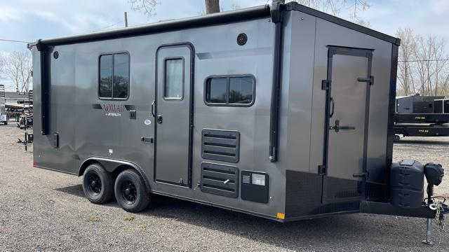 8.5' X 18' Enclosed Toy Hauler