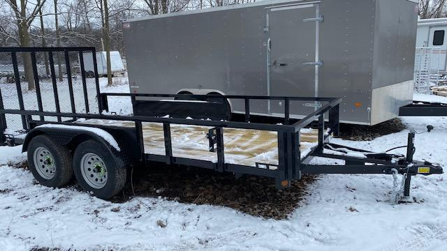 74 X 14 Tandem Axle Open Utility Trailer