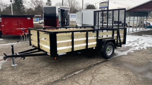 82 X 12 Single Axle Open Utility Trailer