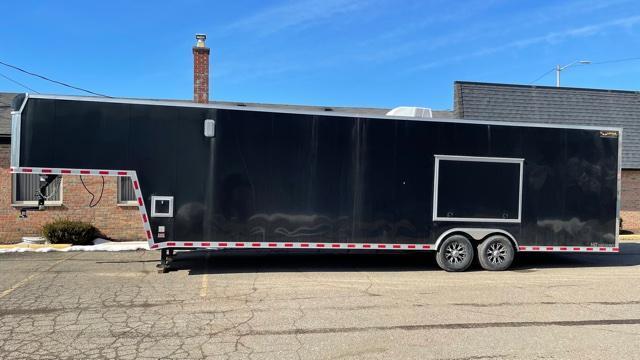 8.5' X 30' Gooseneck Enclosed Trailer 14K