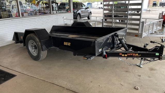"66"" X 12'  Tilt Deck Tandem Axle Utility Trailer 7K"