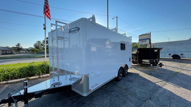 8.5' X 16' Tandem Axle Enclosed Trailer (Contractor)