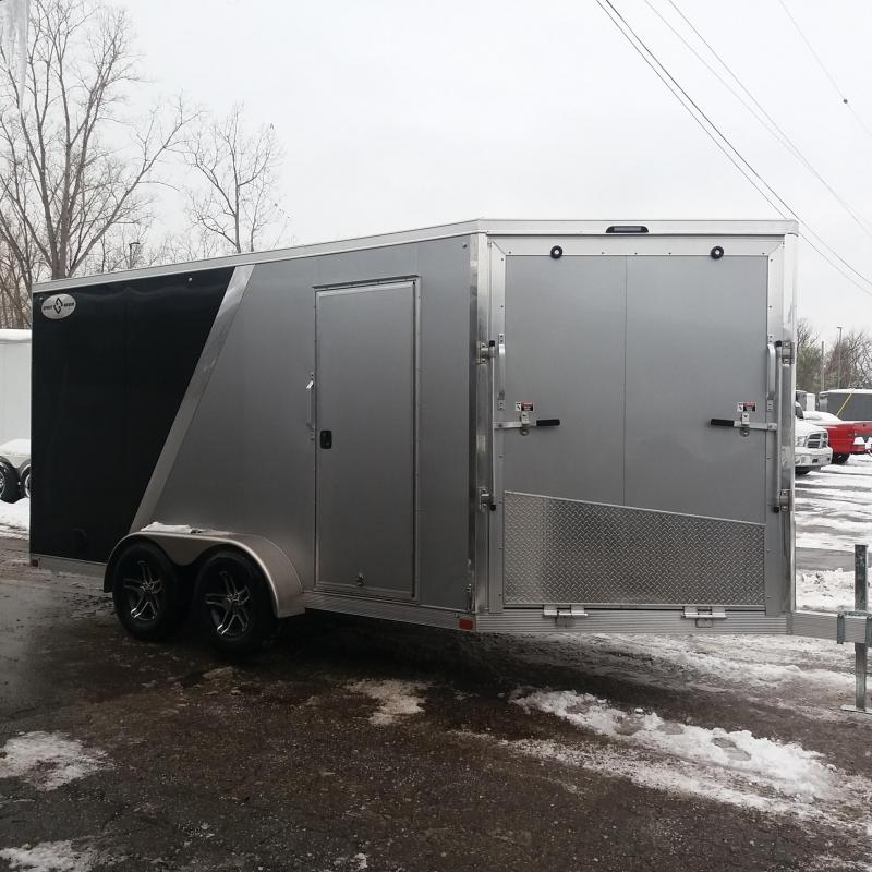7 X 19  Tandem Axle Snowmobile Trailer