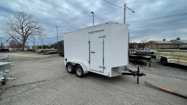 6' X 12' Tandem Axle Enclosed Trailer