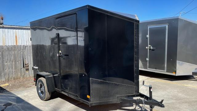 6' X 10' Single Axle Enclosed Trailer (Blackout Pkg)