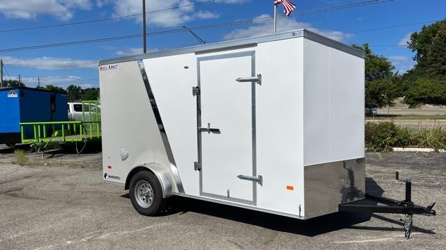 6' X 12' Single Axle Enclosed Trailer
