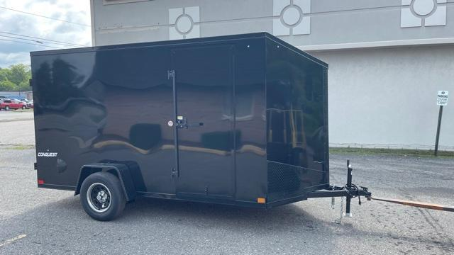 6' X 12' Single Axle Enclosed Trailer Blackout Trailer