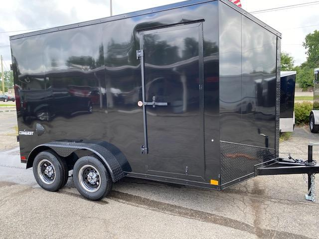 7 X 12 TANDEM AXLE ENCLOSED CARGO TRAILER
