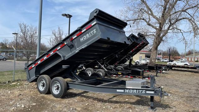 6'10 X14 Dump Trailer 16K